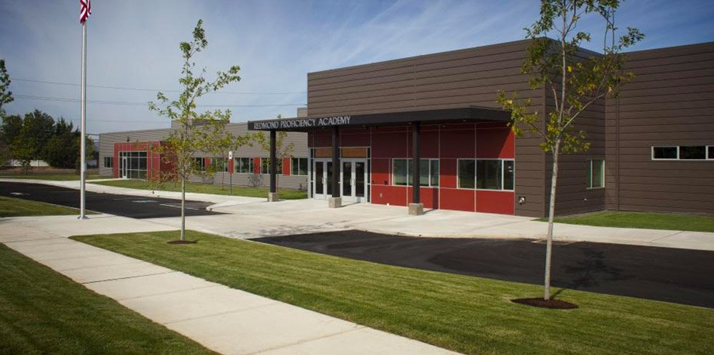 Redmond Proficiency Academy work done by Oregon builders