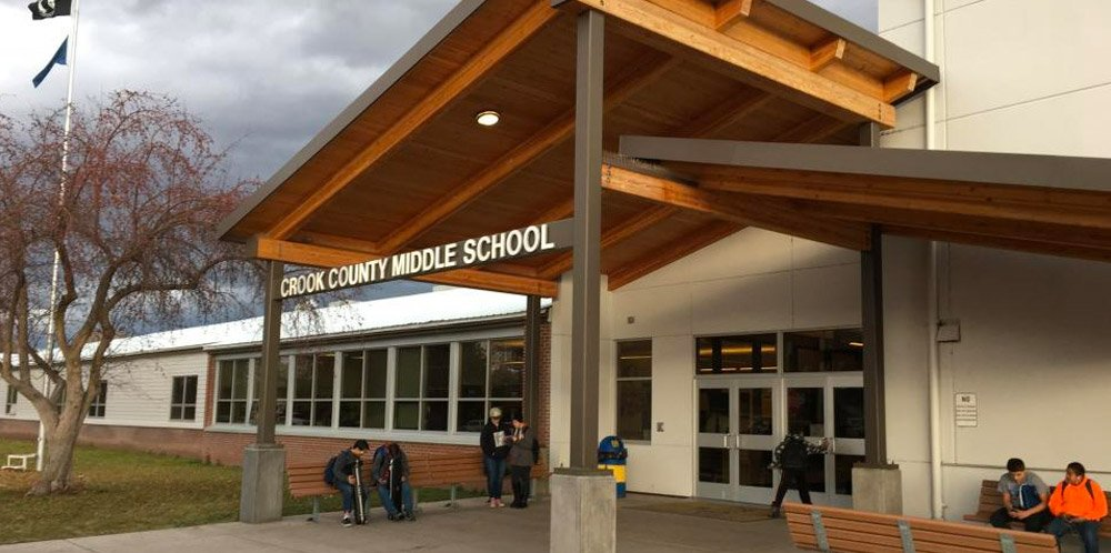 Crook County Middle School constructed by Oregon builders