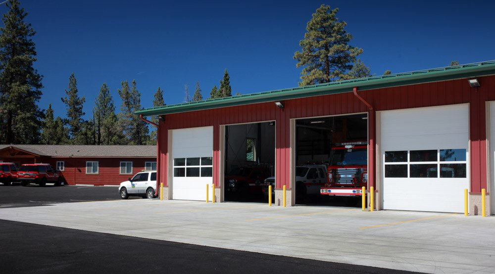Griffin Construction Cloverdale RFPD Fire Station
