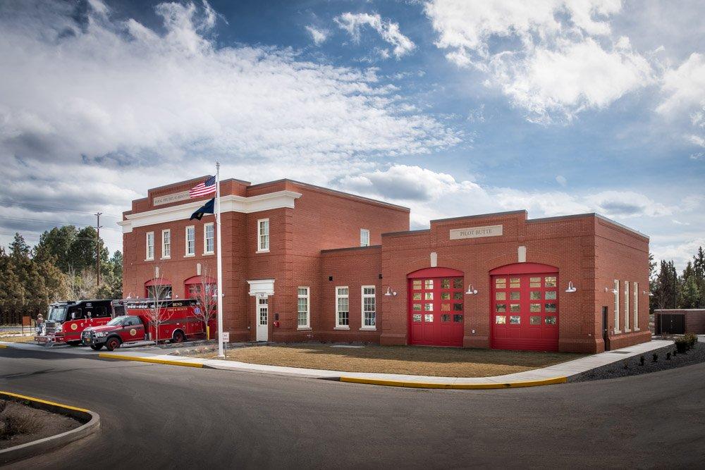 pilot butte fire station