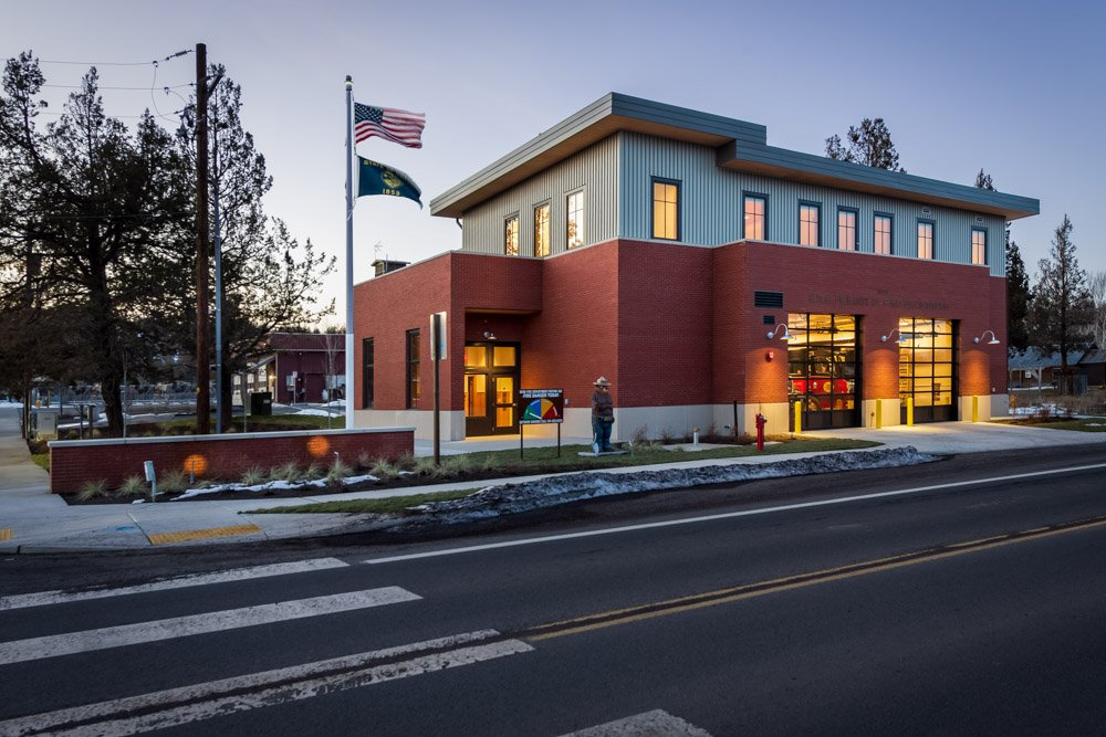 Deschutes County Fire Station built by Griffin Construction