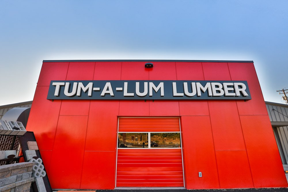 Tum-a-Lum Lumber built by Griffin Construction
