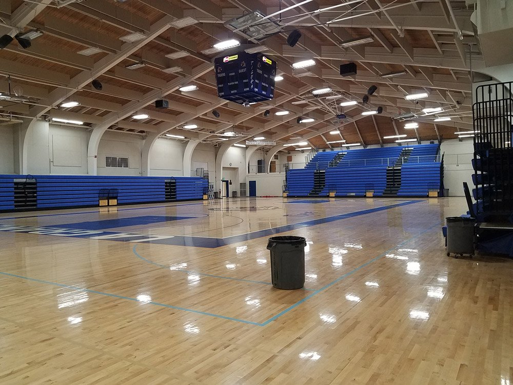 La Grande High School gym