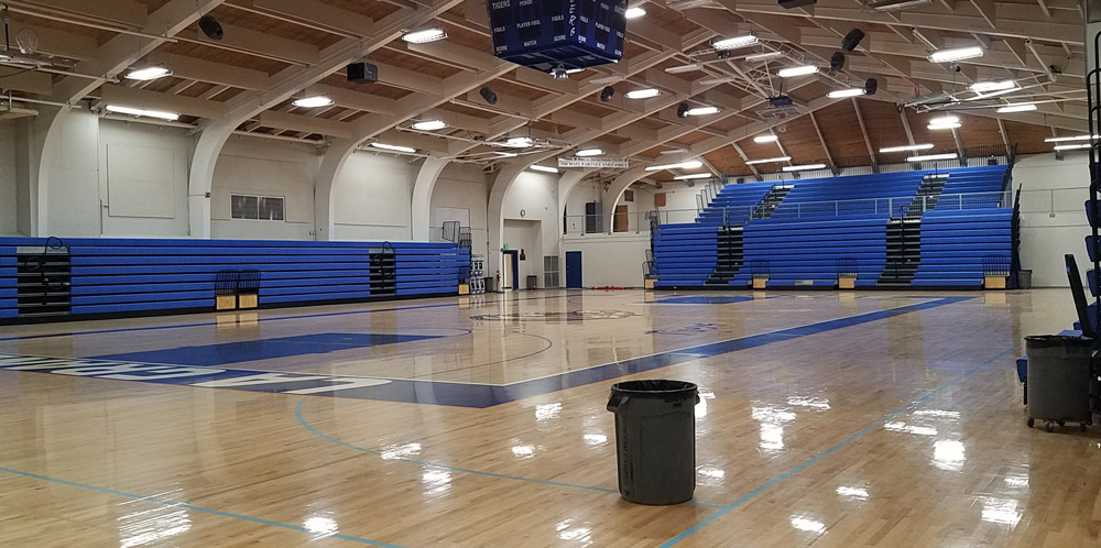 School gym constructed by Oregon builders
