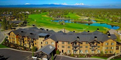 Huntington Lodge at Pronghorn Resort constructed by Oregon builders