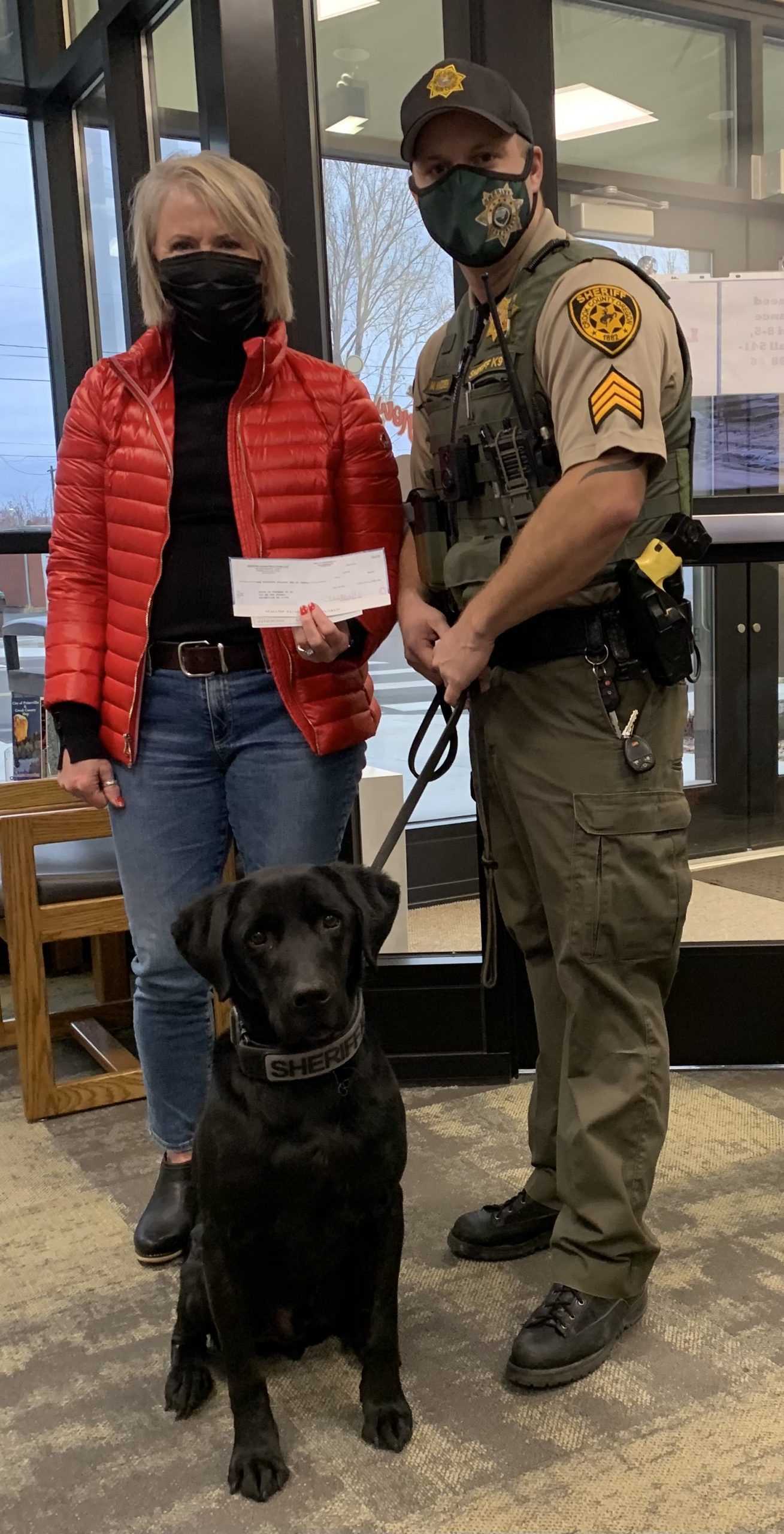 Griffin Construction giving back to the K-9 unit