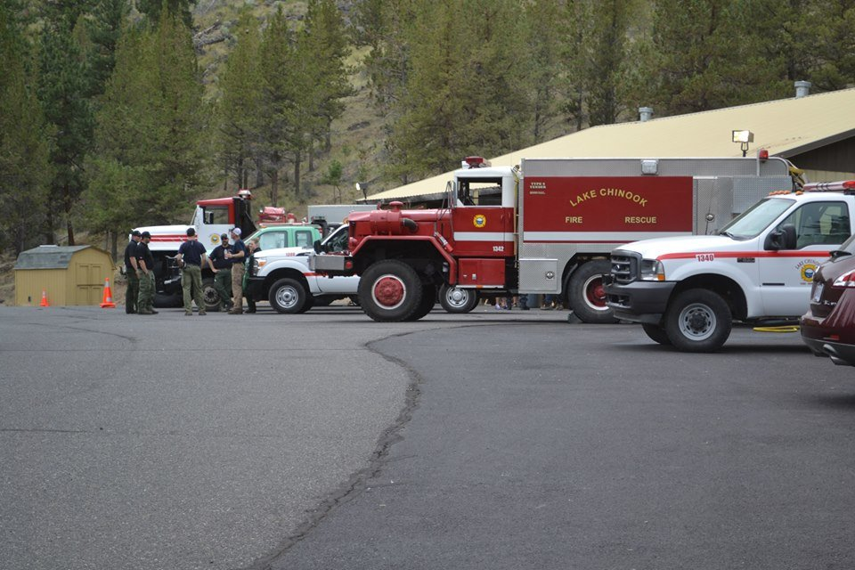 Lake Chinook Fire and rescue